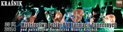 Mistrzostwa Polski PTT Formacji Tanecznych - Kraśnik 2014